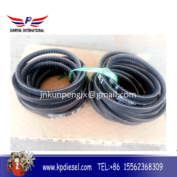 3701612-66d v belts for sdlg excavator parts