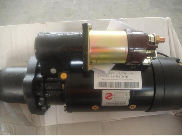 Shangchai diesel engine spare parts for Caterpillar 3406 starter motor