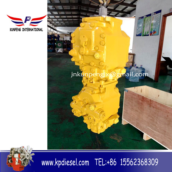 linde hydraulic double pump assy