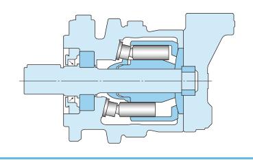 K3X kawasaki piston motor