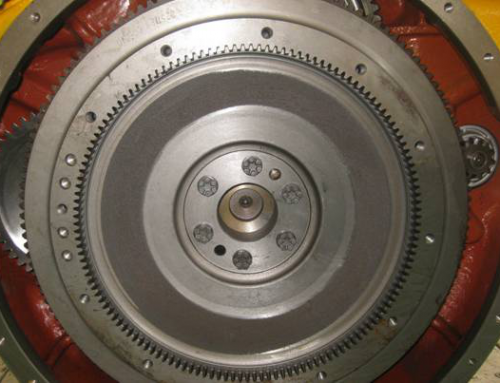 7 Step Can fitting on Shantui SD22 Bulldozer Flywheel Correctly