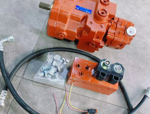How to Refit KYB Hydraulic Pump For Yanmar B50 Excavator