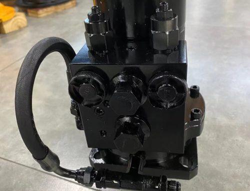 Eaton Swing Motor and Swing Circle Gear for komatsu Excavator send to Europe client